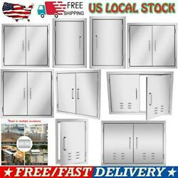 Multi-size Bbq Island Double Single Doors Outdoor Kitchen Stainless Steel Access