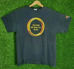 Vtg The Lord Of The Rings Shirt 2001 Movie Game Promo Riches Tolkien L 2000s Y2k