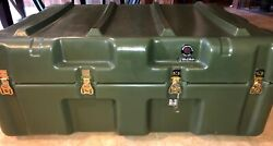 37x26x18 Hardigg Pelican Wheeled Military Medical Chest Case W/ Equalize Press.andnbsp