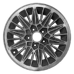 01250 Reconditioned 15x7 Alloy Wheel Rim Medium Charcoal Painted W/machined