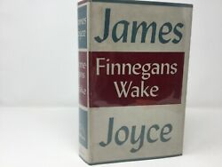 Finneganand039s Wake By James Joyce Hc First 1st Like New 1939