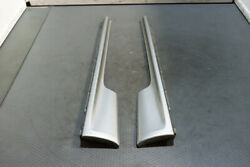Jdm Nissan R33 Side Skirts Silver Painted 1995-1998 R33 Gtr No End Caps
