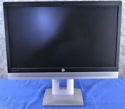 Lot Of 2 X Hp Elitedisplay E240c Video Conferencing Ips Monitor W/ Stand Hdmi