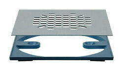 Sioux Chief 4-3/8 Square Shower Drain Strainer Grate 821-2qas Stainless Steel