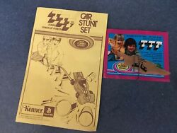 Tip Ssp Car Stunt Set Kenner 1974 Toy Manual And Ssp Product Ad Inserts