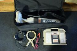 Subsite Ditch Witch Locator Wand Model 950r With 950t Transmitter