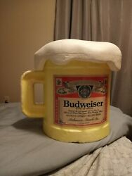 Budweiser Cooler Vintage One Of A Kind. This Item Will Not Last Long.