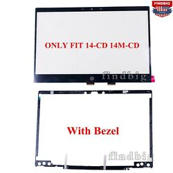 New Touch Screen Digitizer Glass For Hp Pavilion X360 14m-cd0006dx 14m-cd0001dx