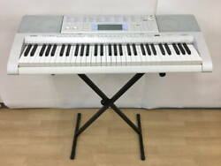 Casio Light Navigation Lk-207 Keyboard 61 X-type Stand With Adapter