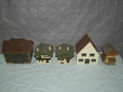 5 Ech Ho Decors, Hangars And House Very Good State