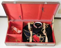 Imperial Japanese Army Military Uniform Set Coat With Case Antique Japan