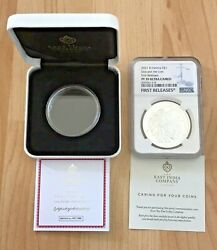 2021 Una And The Lion 1 Oz Silver Proof Ngc Pf70 St Helena Uk First Rel Low Coa
