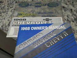 1968 Original Camaro,chevelle,chevy-2 Owners Manual/items