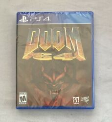 Limited Run Games Doom 64 Standard Edition For Playstation 4 Ps4 Brand New