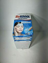 Lot Of 9 Boxes Be Koool Cooling Relief For Migraine Soft Gel Sheets 4pk Boxes 9x