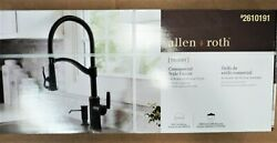 Allen And Roth Talbert Oil-rubbed Bronze 1 Pull-down Handle Kitchen Faucet Nib