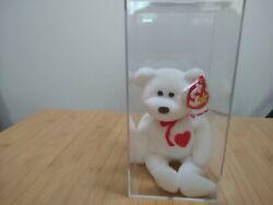 Ty Beanie Baby Valentino, Brown Nose, 1993/1994 Tag Errors.