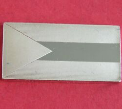 The Bahamas Silver Proof Flag Ingot - Flags Of The Commonwealth