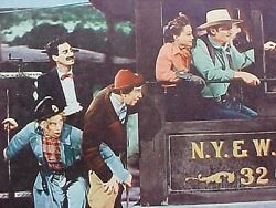 1964 The Marx Bros On A Train The Big Parade Of Comedy Lobby Card Make Offer