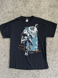 Halo 3 2007 Mountain Dew Game Fuel Vintage Xbox Video Game T Shirt