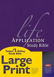 Nkjv Life Application Study Bible, Second Edition, Large Print Red Letter, H…
