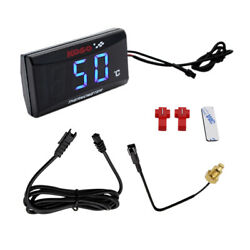For Koso Motorcycle Thermometer Instruments Temp Temperature Digital Display New