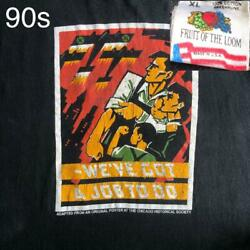 90s Made In Usa Chicago Historical Society World War Ii Nazi Germany T-shirt