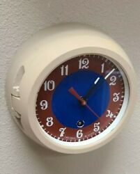Vintage Soviet Ship Clock Made In Ussr Military Antimagnetic Fully-serviced