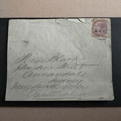 1901 Cover To Annandale With India 1a 'c.e.f.' Opt Tied By 'field P.o. No.1' Bri