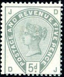 Great Britain Sg 193 5d Postage And Revenue Stamp Muh