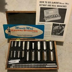 Dumont Minute Man 10-10a Style B And C Broach Set