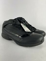 Starter Slam Dunk Mens Basketball Shoes Black Size 12 Lace Up Nwt