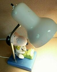 Snoopy Desk Lamp Works Great Comes With Bulb 1958 1966 United Feature Syndicate