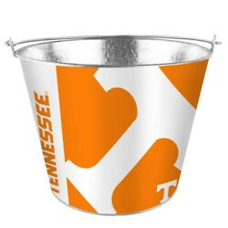 Ncaa Tennessee Volunteers 5 Quart Metal Bucket Hype Pail Bbq Drinks Party Game