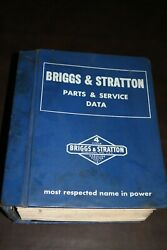 1981 Briggs And Stratton Small Engine Parts And Service Repair Shop Manual Huge
