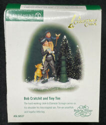 Bob Cratchit And Tiny Tim Department 56 Dickens Village A Christmas Carol 58537