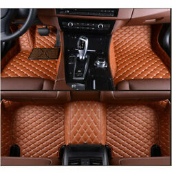 Fit Subaru Outback Impreza Legacy Forester Tribeca Xv Luxury Car Floor Mats Pads