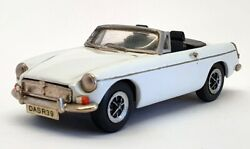 Kandr Replicas 1/43 Scale Ace 3 - 1971-74 Mgb Roadster Mk3 - White