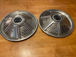 1965 65 Ford Mustang 13 Inch Hubcaps Wheel-covers Center Antique Vintage 2