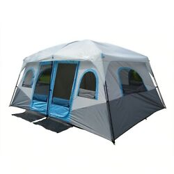 Outdoor Large Camping Tent Family Big 8 10 12 Person Party Tent Waterproof Tents