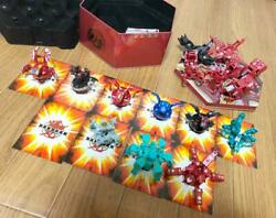 Bakugan Total Of 15 Pieces Them Are Assembly Parts 10 Cards Instructions