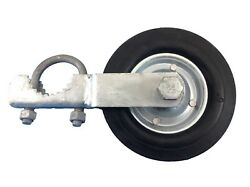 Gate Helper Wheel For Chain Link Fence With 1-3/8 To 1-7/8 Gate Frames
