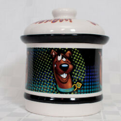Vtg Scooby-doo Hanna-barbera Dog Treat Cookie Jar Ceramic Container With Lid