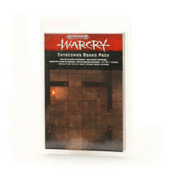 Warcry Catacombs Board Pack - Warhammer Fantasy Age Of Sigmar Terrain Thg