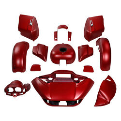 Fairing Bodywork Fit For Harley Road Glide Special 2019 2015-21 Wicked Red Denim