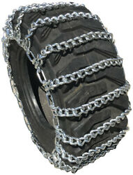 Snow Chains 15 19.5 15-19.5  Tractor Tire Chains Set Of 2
