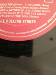 The Rolling Stones 1st Red Decca Album Short Version Tell Me 2a/2a Ultra Rare