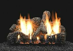 Empire 30 Charred Oak Logset With Remote For On/off And Flame Height Lp