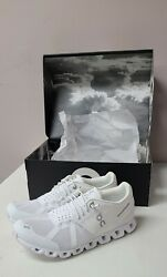 On Cloud Women Shoes All White Size 7.5 Free Shipping