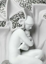 Lladro Mother Nature 01007180 Retired Limited Baby Born Love Mum 7180 Brand New